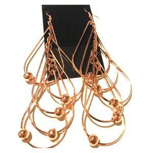Jewelry - Beaded Tiered Earrings